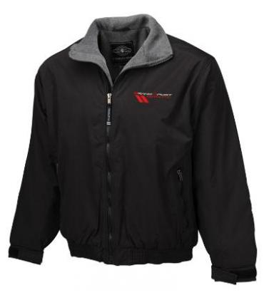 Corvette Grand Sport, Navigator Jacket, Black, Large