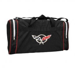 Corvette Appliqued Duffel Bag, with C5 or C6 Logo