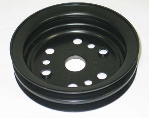 "Corvette Crankshaft Pulley, Lower 2 Groove 6 3/4"", 1962-1980"