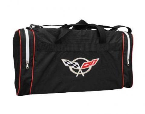 Corvette Appliqued Duffel Bag, with C5 or C6 Logo