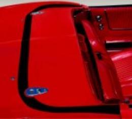 Corvette Deck Lid Protector, Hardtop, Clear, 1968-1975