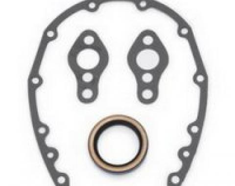 Corvette Edelbrock Timing Cover Gasket Set, 1963-1982
