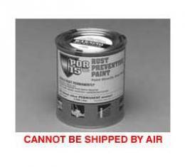 Rust Preventive Paint, Black, Semi-Gloss, Quart, POR-15