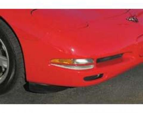 Corvette Turn Signal/Parking Light Center Styling Bars, Altec, Torch Red, 1997-2004