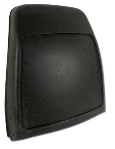 Corvette Seat Bucket, Black, Top, 1979-1982