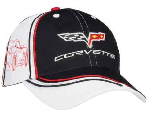 Corvette C6 Silhouette Cap