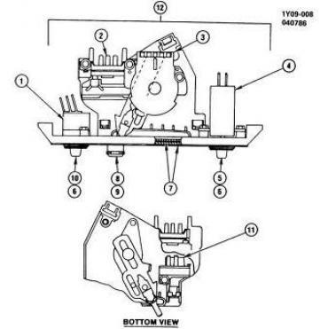 Corvette Heater Water Temperature Control Valve, 1984-1988