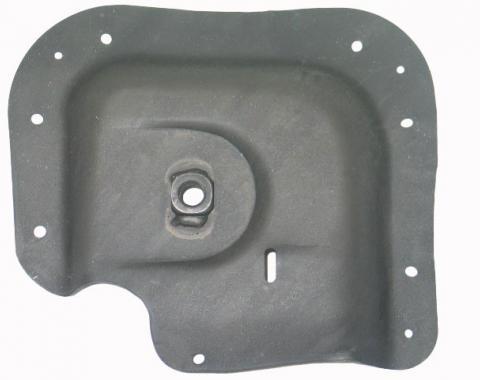 Corvette Seat Belt Reinforcement, Left Underbody, 1972-1973