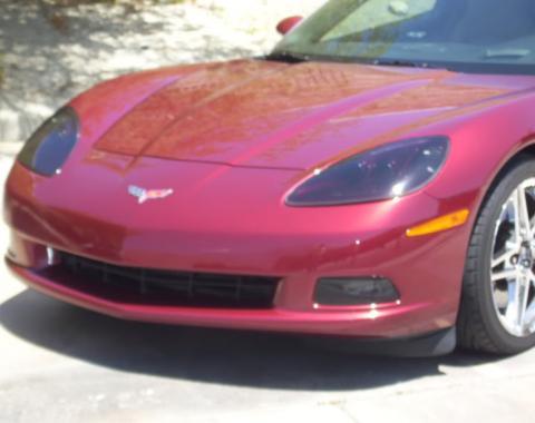 Corvette Smoke Headlight & Fog Light Covers, 2005-2013