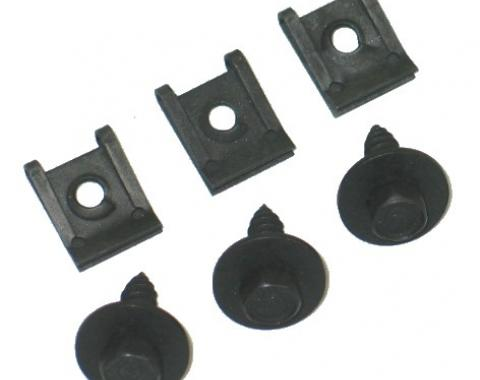Corvette Coolant Recovery Tank Mount Kit, 1973-1982