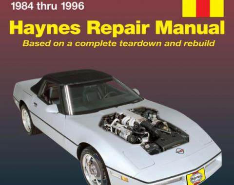 Corvette Haynes Repair Manual, 1984-1996