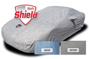 Corvette Car Cover Softshield, with Cable & Lock, 2014-2019 Z06 Coupe & Convertible