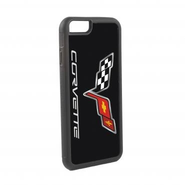 Corvette iPhone 6  Rubber Case, with C6 Logo