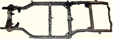 Corvette Complete Frame, Convertible, 1965-1966