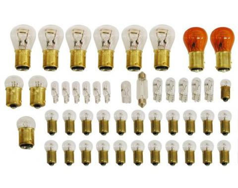 Corvette Light Bulb Kit, 39 Piece, 1977
