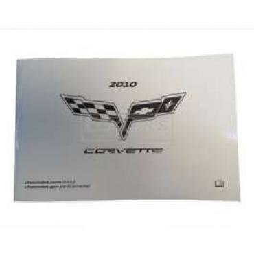 Corvette Owners Manual, 2010