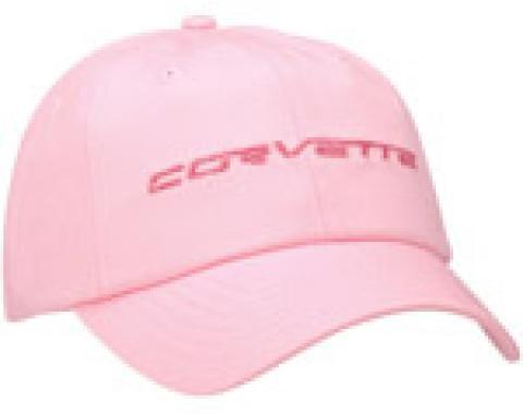 Corvette C6 Pink Twill Cap