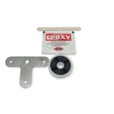Corvette Headlight Motor Gear Repair Kit, 2000-2004