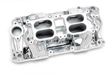 Corvette RPM Air Gap Dual-Quad Intake Manifold Endurashine, 1955-1982
