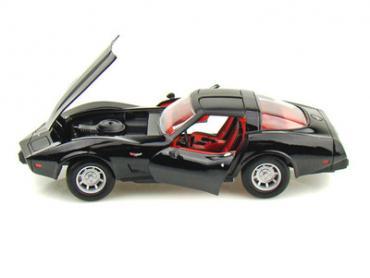 Corvette 1979 Coupe Black 1/24 Diecast