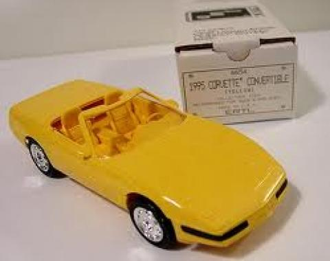 1995 Yellow Convertible Dealer Promo