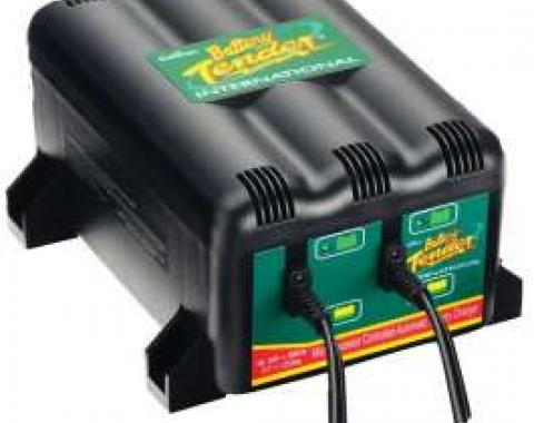 Corvette Battery Tender 2 Bank Charger 12 Volt