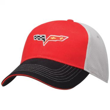 Corvette C6, Twill and Soft Mesh Cap