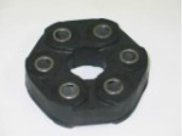Corvette Torque Tube Bushing Coupler, Stock Rubber, 10mm Holes, 1997-2000