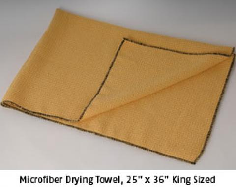 "Microfiber Drying Towel, 25"" x 36"""
