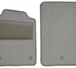 ACC 2007-2013 Chevrolet Corvette Floor Mat with Heel Pad 2pc (FM377WHEEL) Cutpile
