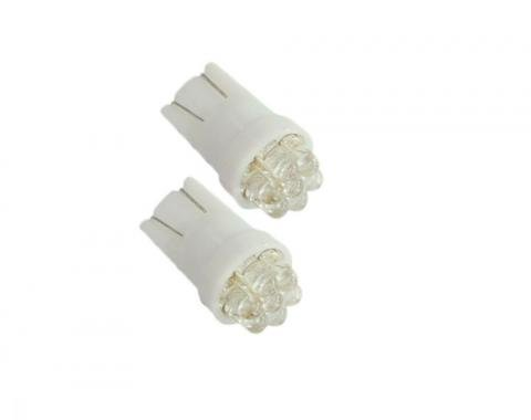 Corvette White SMD LED Light Bulb, Set of 2, #194, 1968-2013