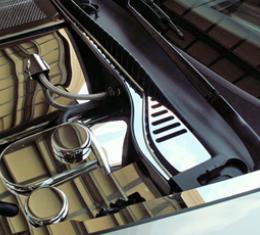 American Car Craft Chevrolet Corvette 2005-2013  Wiper Cowl Polished 2pc C6 08-13 043016