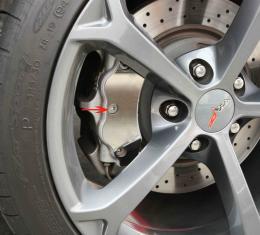 American Car Craft 2005-2013 Chevrolet Corvette Caliper Covers Polished 18pc 042090