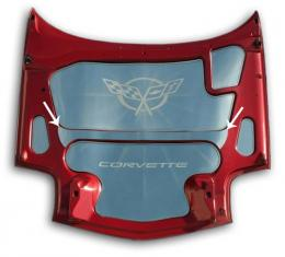 American Car Craft Chevrolet Corvette 1997-2004  Hood Center Brace Cover Polished 033005