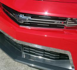 American Car Craft 2005-2013 Chevrolet Corvette Upper Valance Polished Lower Grille 102075