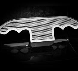 American Car Craft Exhaust Filler Panel Perforated Stock 032005