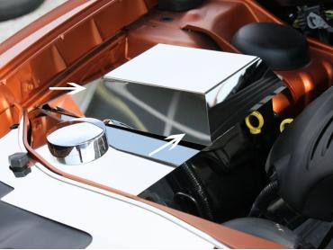 American Car Craft Fuse Box Cover Polished 303017
