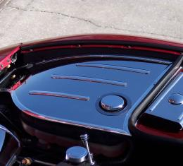 American Car Craft Chevrolet Corvette 1997-2004  Inner Fender Covers Polished w/cap covers 033019
