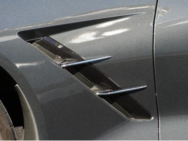 American Car Craft Chevrolet Corvette 2014-2018  Spears Chrome Retro Side 4pc 052010