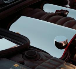 American Car Craft 2014-2019 Chevrolet Corvette Fuel Rail Covers Polished 2pc w/cap cover 033040
