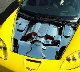 American Car Craft Inner Fender Covers Polished 4pc Z06 043018
