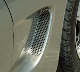 American Car Craft Vent Grilles Perforated Side Vent 2pc 032015