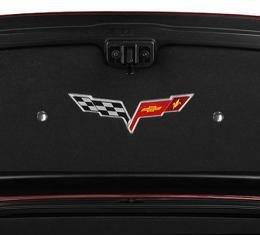 American Car Craft Chevrolet Corvette 2005-2013  Button Kit Chrome Trunk Liner 041031