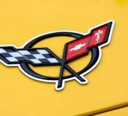 American Car Craft Emblem Trim Polished 2pc 032037