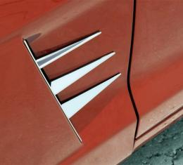 American Car Craft 2005-2013 Chevrolet Corvette Vent Spears Only Polished 6pc C6 042048