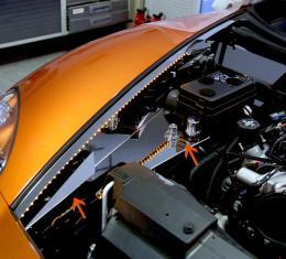 Corvette Inner Fender Liner Polished Component 8Pc Illuminated 2005-2013 C6+GS 043022
