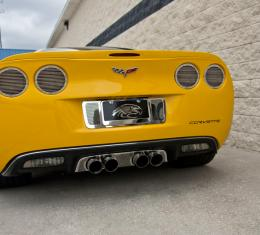 """American Car Craft Chevrolet Corvette 2005-2013  Taillight Covers"""" NEW Billet Style"""" w/ Black out Kit 8pc 042129"""