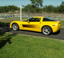 American Car Craft 2005-2013 Chevrolet Corvette Side Graphic Sport Fade 042028