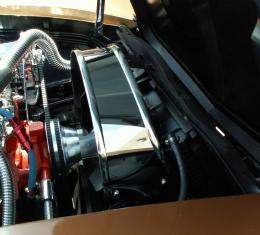 American Car Craft Fan Shroud Cover Polished Stock 013001