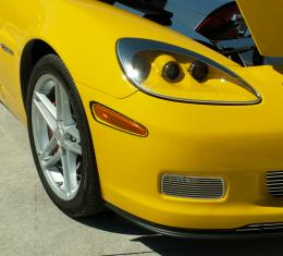 American Car Craft 2005-2013 Chevrolet Corvette Driving Light Covers Polished Billet Style Z06 042062